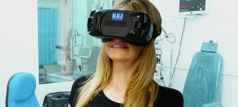 Realiza un descarte de glaucoma con el campímetro VF2000 de MMD comercializado por Neomedix.